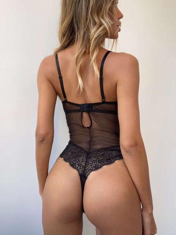 בגד גוף תחרה סקסי